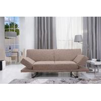 Opulence Luxurious Mink Brown Sofa Bed