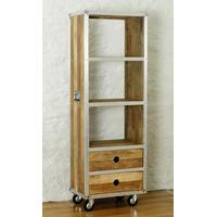 Roadie Chic Tall Bookcase with Drawers