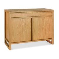 Studio Oak Narrow Sideboard with keyboard drawer