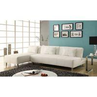 The Maison Contemporary White Platform Sofa Bed