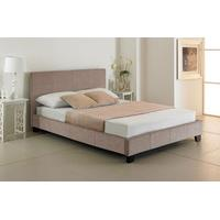 Valencia Stone Upholstered Bed – (multiple sizes) (Valencia Stone Upholstered Bed – double)