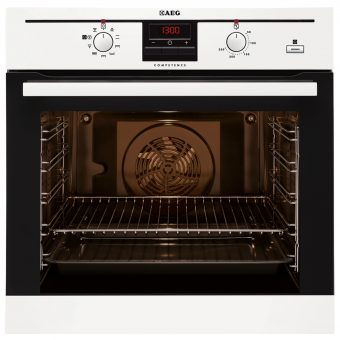 AEG BE300362KW SteamBake Electric Multifunction Built-In Single Oven