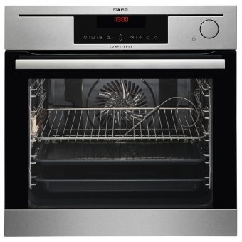 AEG BS730472KM Built-In Single Combination Steam Oven