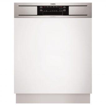 AEG F65610IM0P Semi-Integrated Dishwasher