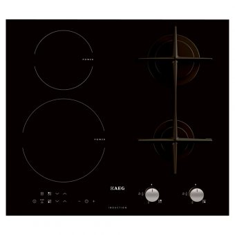 AEG HD634170NB Gas and Induction Hob