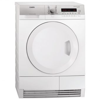 AEG T75380AH2 Freestanding Heat Pump Condenser Tumble Dryer