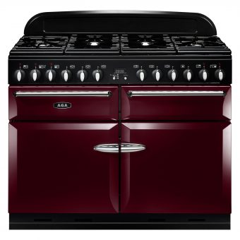 AGA Masterchef XL 110 Dual Fuel Range Cooker Cranberry