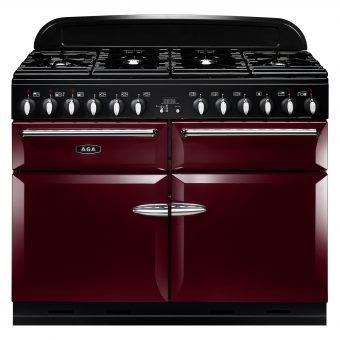 AGA Masterchef XL 110 Dual Fuel Range Cooker Cranberry
