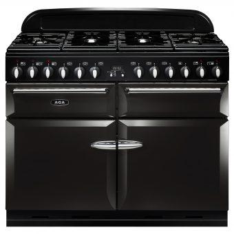 AGA Masterchef XL 110 Dual Fuel Range Cooker Pewter