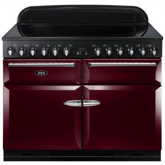 AGA Masterchef XL 110 Induction Range Cooker Cranberry