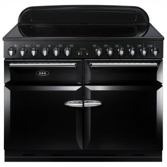 AGA Masterchef XL 110 Induction Range Cooker Gloss Black
