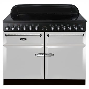 AGA Masterchef XL 110 Induction Range Cooker Pearl Ashes
