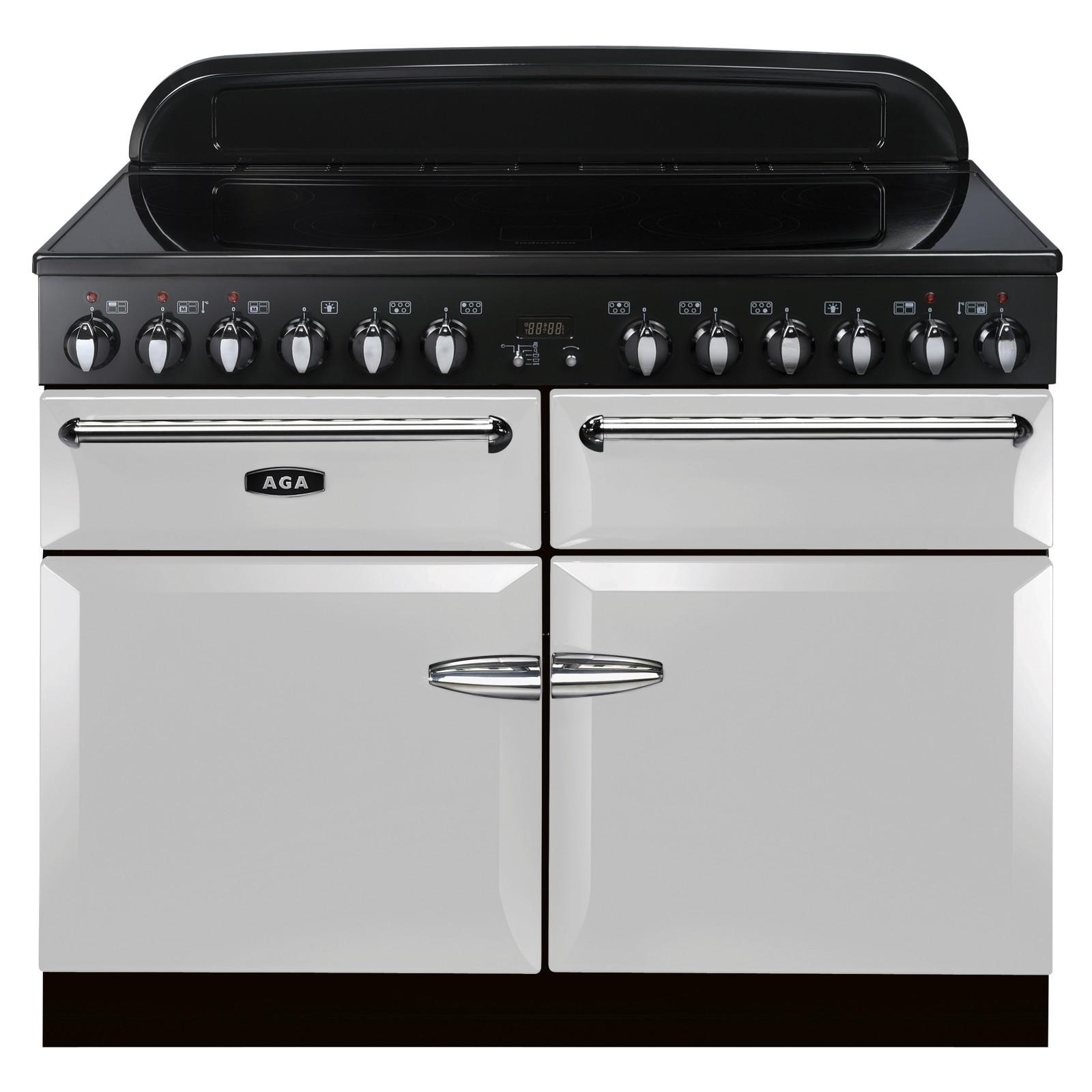 AGA Masterchef XL 110 Induction Range Cooker Pearl Ashes