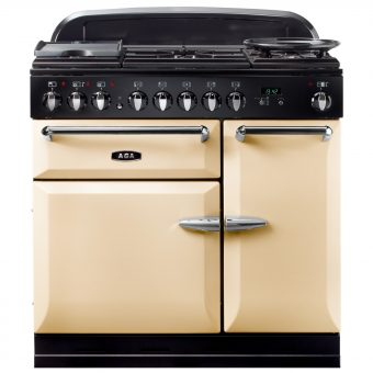 AGA Masterchef XL 90 Dual Fuel Range Cooker Cream