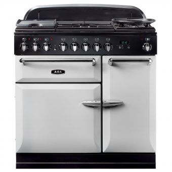 AGA Masterchef XL 90 Dual Fuel Range Cooker Pearl Ashes