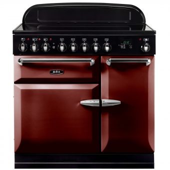 AGA Masterchef XL 90 Induction Range Cooker Cranberry