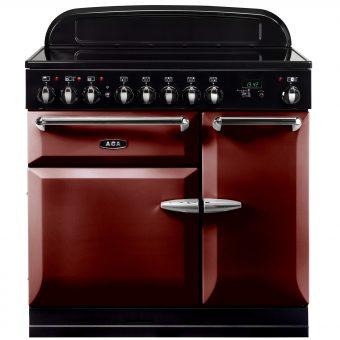 AGA Masterchef XL 90 Induction Range Cooker Cranberry