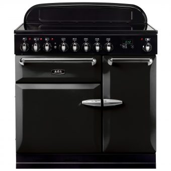 AGA Masterchef XL 90 Induction Range Cooker Gloss Black