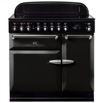 AGA Masterchef XL 90 Induction Range Cooker Gloss Black