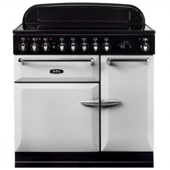 AGA Masterchef XL 90 Induction Range Cooker Pearl Ashes