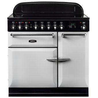 AGA Masterchef XL 90 Induction Range Cooker Pearl Ashes