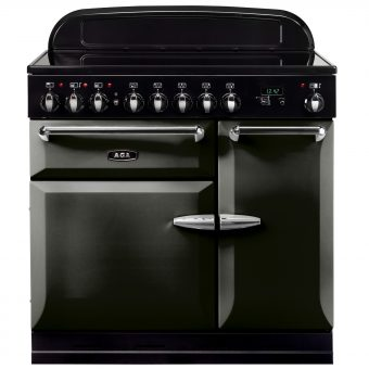 AGA Masterchef XL 90 Induction Range Cooker Pewter
