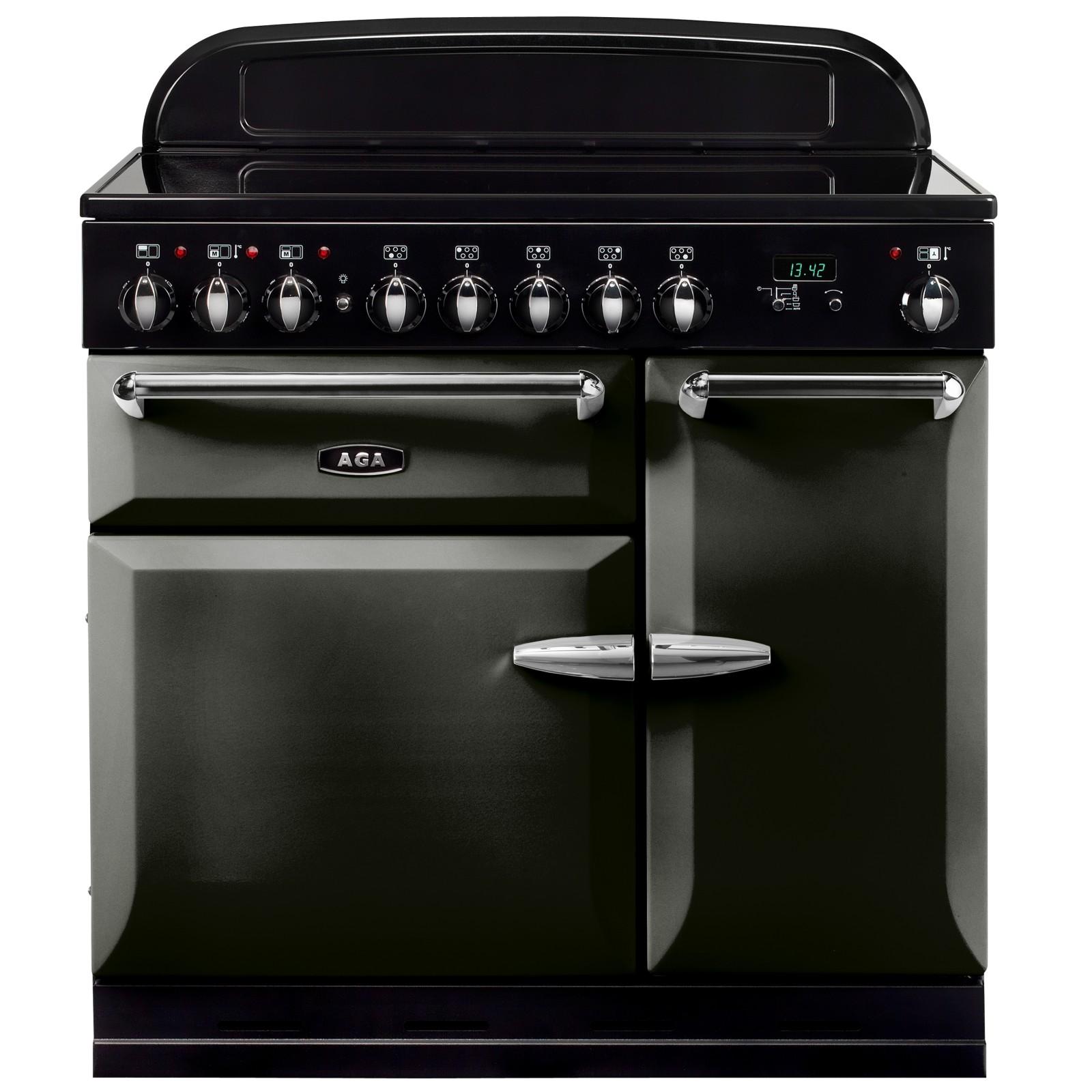 AGA Masterchef XL 90 Induction Range Cooker Pewter