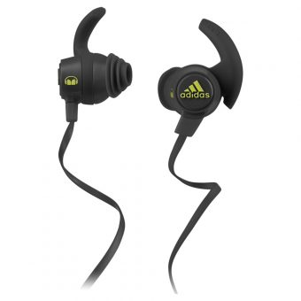 Adidas Response Canal Sports Headphones with In-Line Microphone Grey