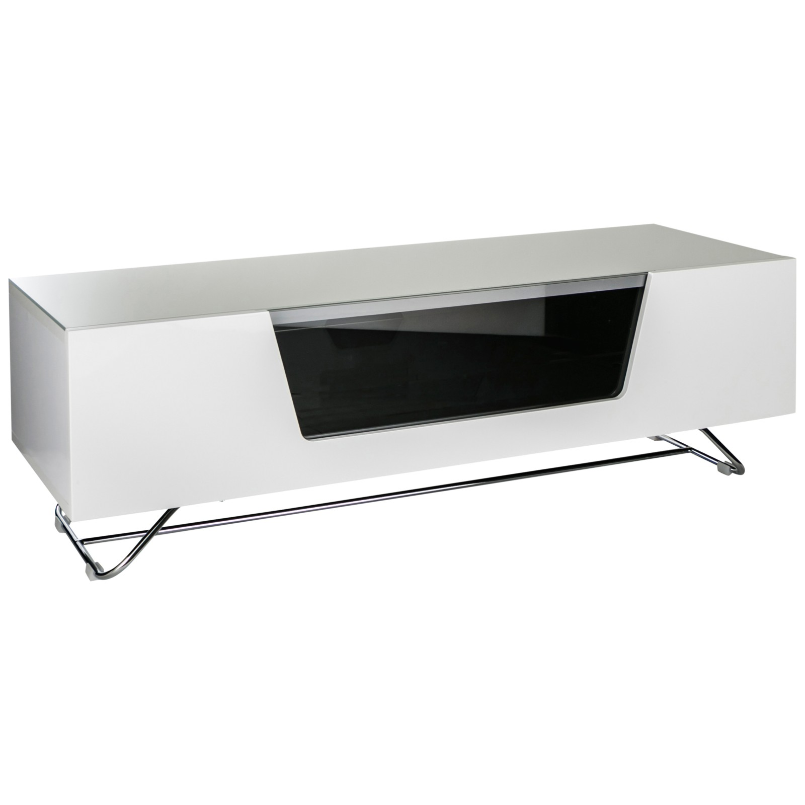 """Alphason Chromium 1200 TV Stand For TVs Up To 60"""" White"""