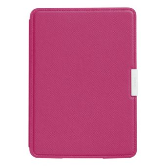 Amazon Leather Cover for Kindle Paperwhite Pink
