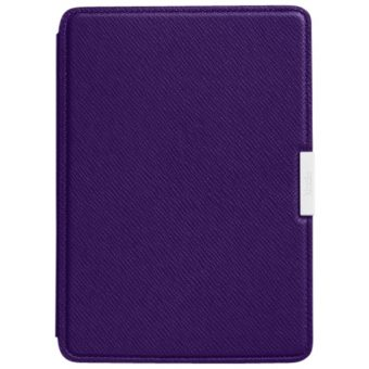 Amazon Leather Cover for Kindle Paperwhite Purple