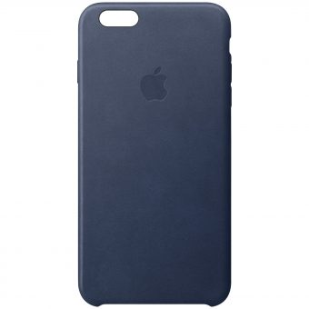 Apple Leather Case for iPhone 6s Midnight Blue