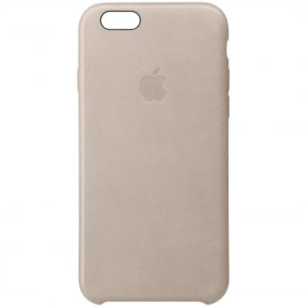 Apple Leather Case for iPhone 6s Plus Beige