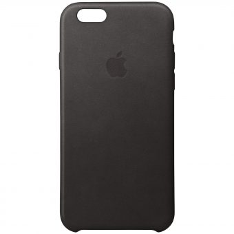 Apple Leather Case for iPhone 6s Plus Black