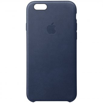 Apple Leather Case for iPhone 6s Plus Navy