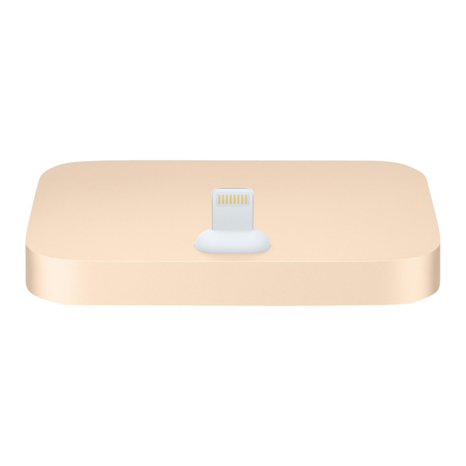 Apple Lightning Dock for iPhone Gold