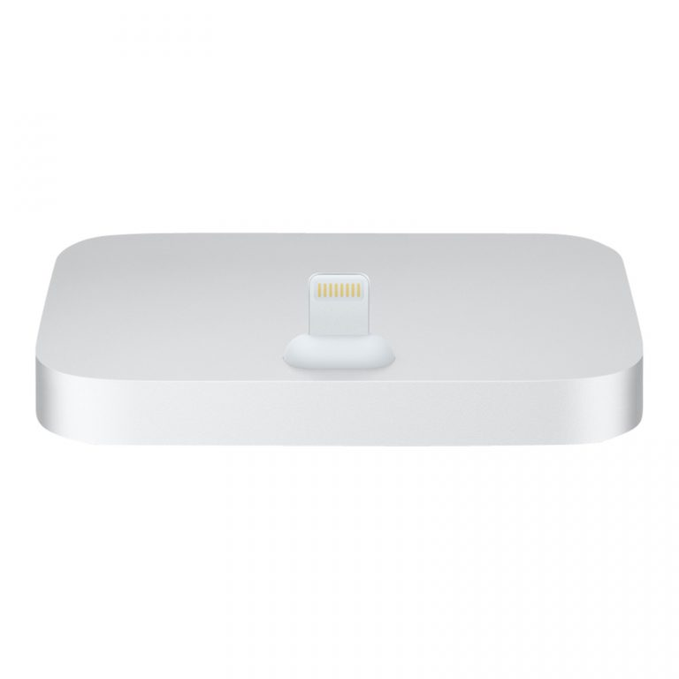 Apple Lightning Dock for iPhone Silver