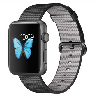 Apple Watch Sport 42mm Space Grey Aluminium Case & Woven Nylon Band