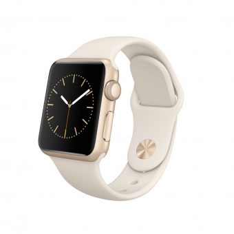 Apple Watch Sport with 38mm Gold Aluminium Case & Sport Band