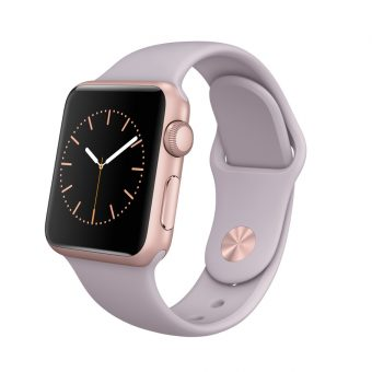 Apple Watch Sport with 38mm Rose Gold Aluminium Case & Sport Band