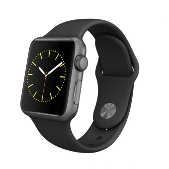 Apple Watch Sport with 38mm Space Grey Aluminium Case & Sport Band