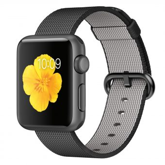 Apple Watch Sport with 38mm Space Grey Aluminium Case & Woven Nylon Band