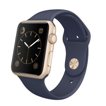 Apple Watch Sport with 42mm Gold Aluminium Case & Sport Band