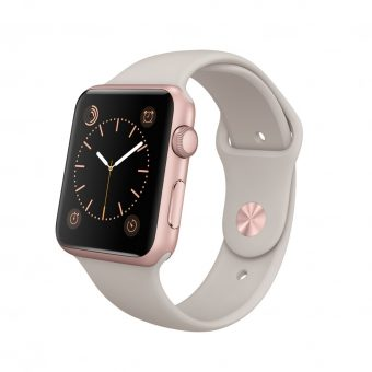 Apple Watch Sport with 42mm Rose Gold Aluminium Case & Sport Band