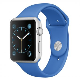 Apple Watch Sport with 42mm Silver Aluminium Case & Sport Band Royal Blue