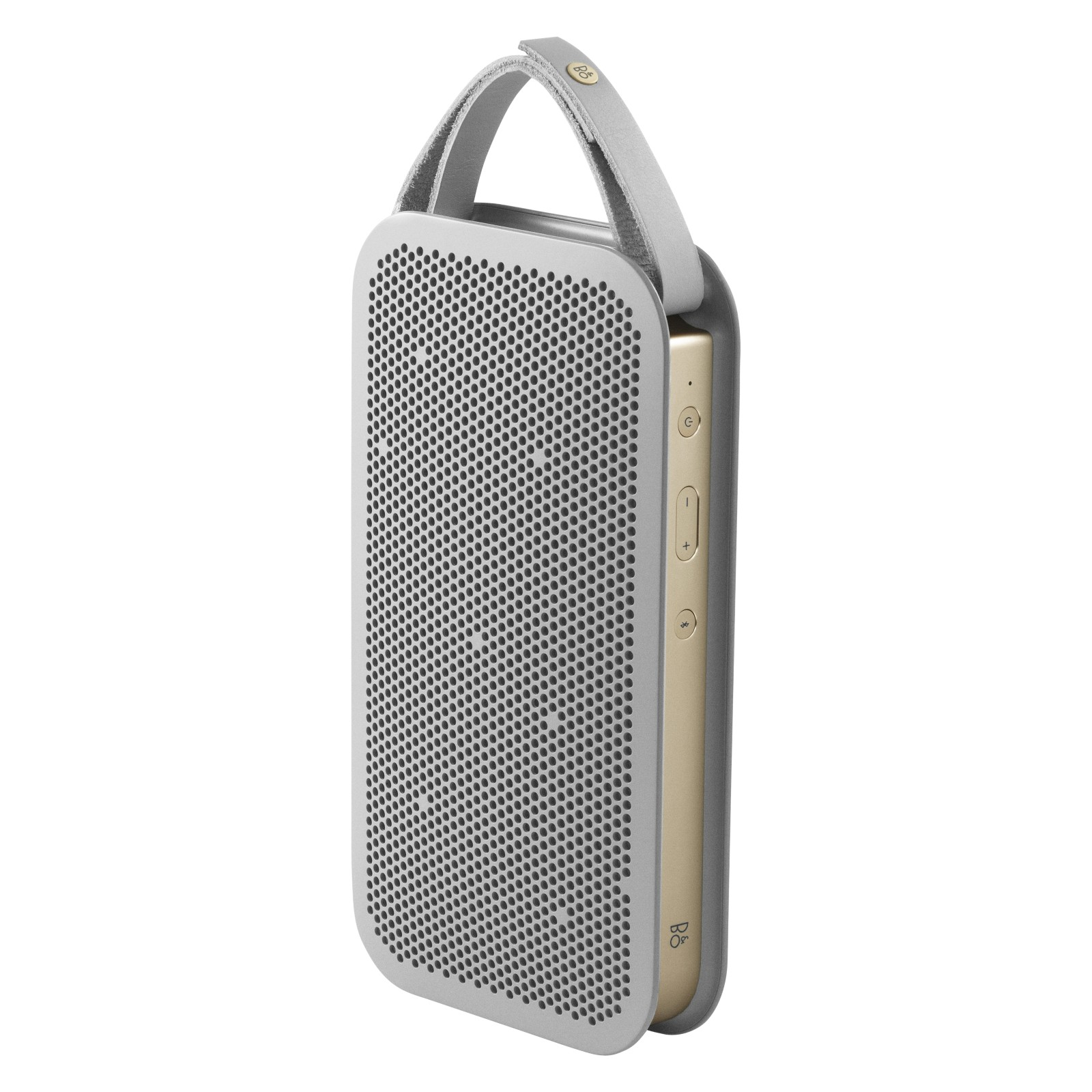 B&O PLAY by Bang & Olufsen Beoplay A2 Portable Bluetooth Speaker Champagne Grey