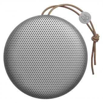 B&O Play by Bang & Olufsen Beoplay A1 Portable Bluetooth Speaker Silver