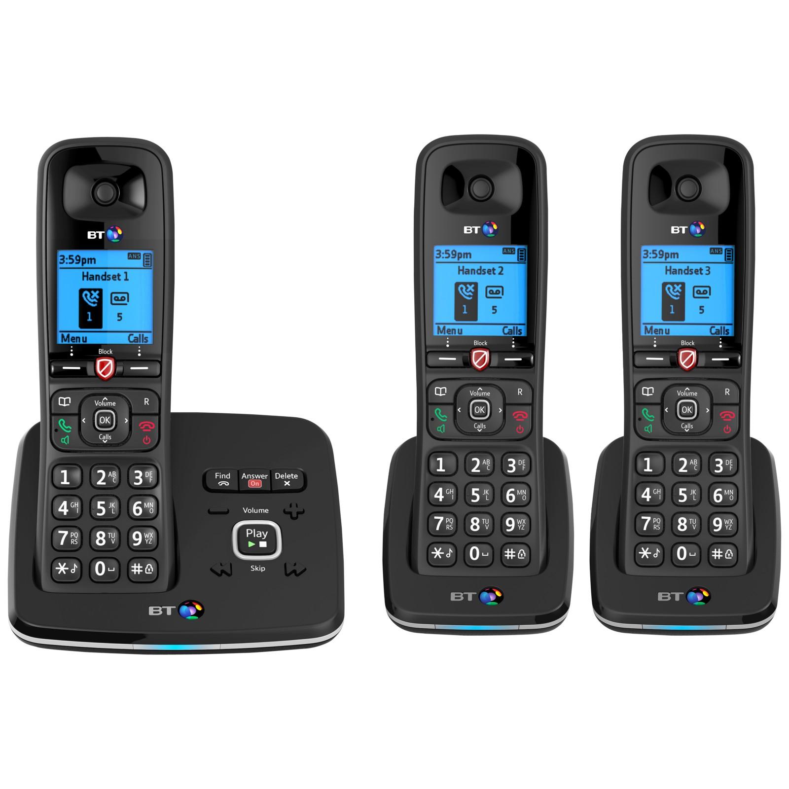 BT 6610 Digital Cordless Phone With Nuisance Call Blocking & Answering Machine