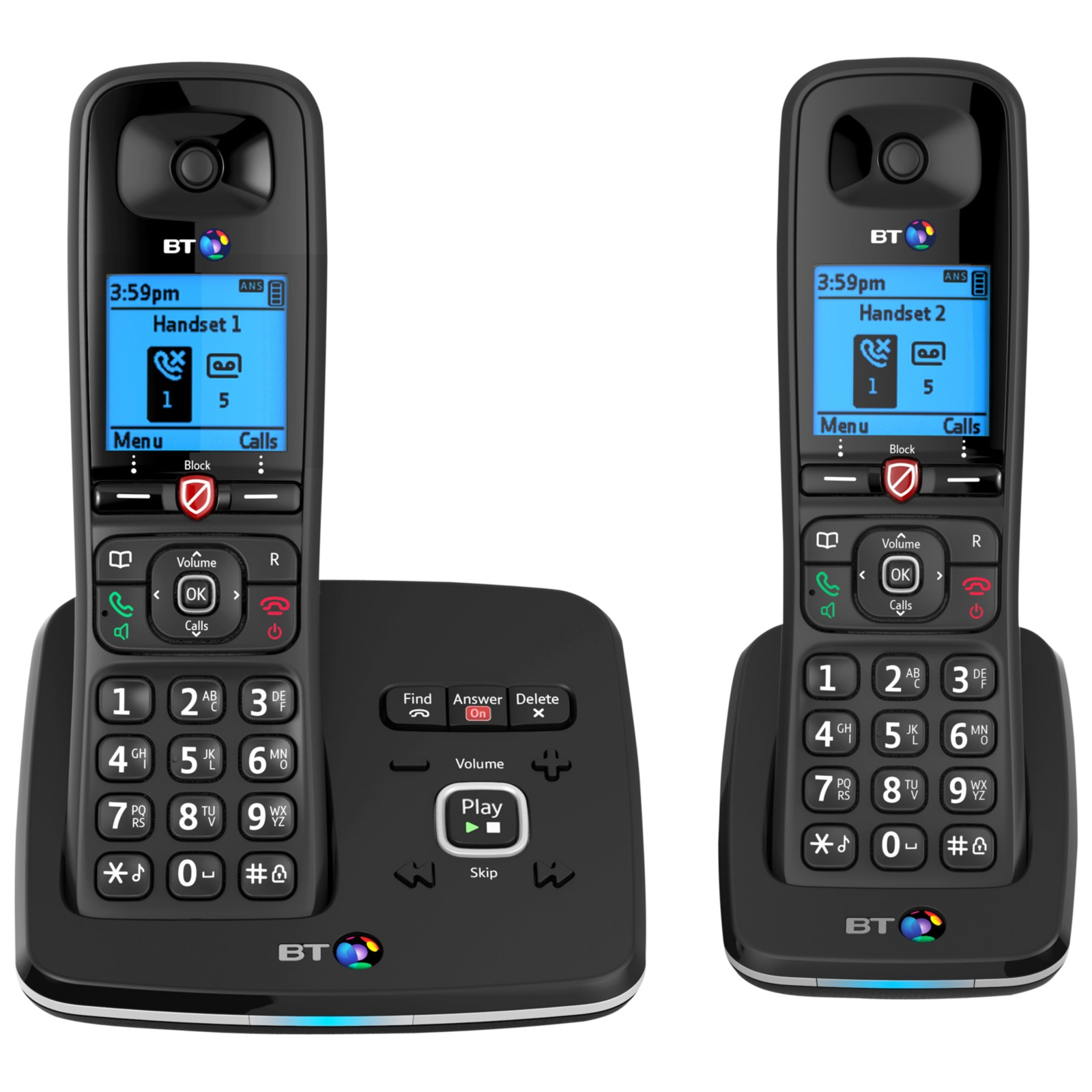 BT 6610 Digital Cordless Phone With Nuisance Call Blocking & Answering Machine
