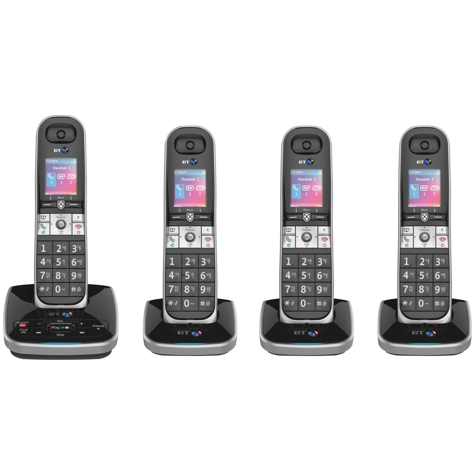 BT 8610 Digital Cordless Phone With Advanced Call Blocking & Answering Machine